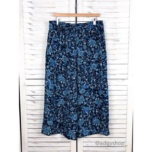 [H&M] Floral Creped Culottes